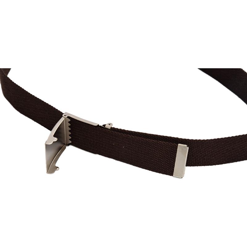 2X-Unisex-Plain-Webbing-Canvas-Metal-Buckle-Belt-T6D3 thumbnail 29