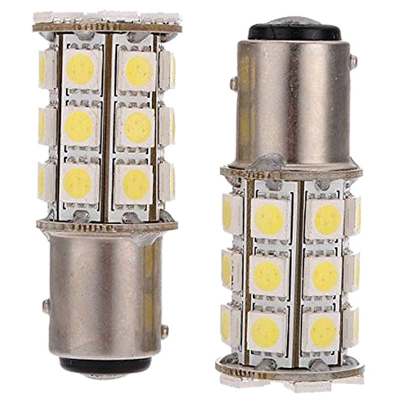 10Pcs 1157 P21//5W LED Ampoule,BAY15D 7528 2057 3496 COB LED Stop Frein Ampoule pour Lumineux Feu de Freinage Arri/ère Feux de Brouillard Position Feu Arri/ère Feu de Stationnement,Blanc