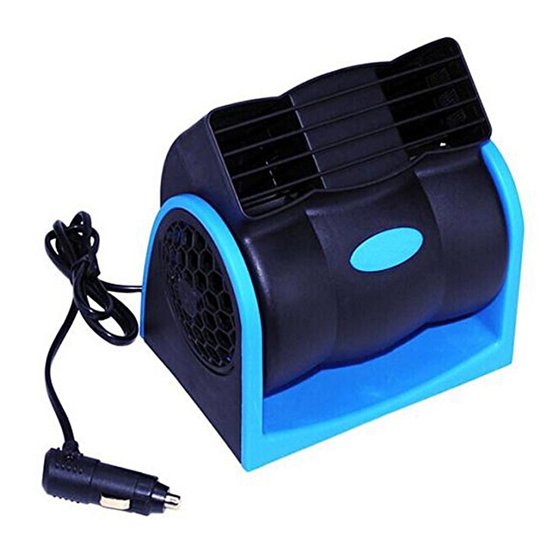 Car Vehicle Truck Cooling Air Fan 12V Adjustable Silent Cooler Speed  #0697C5