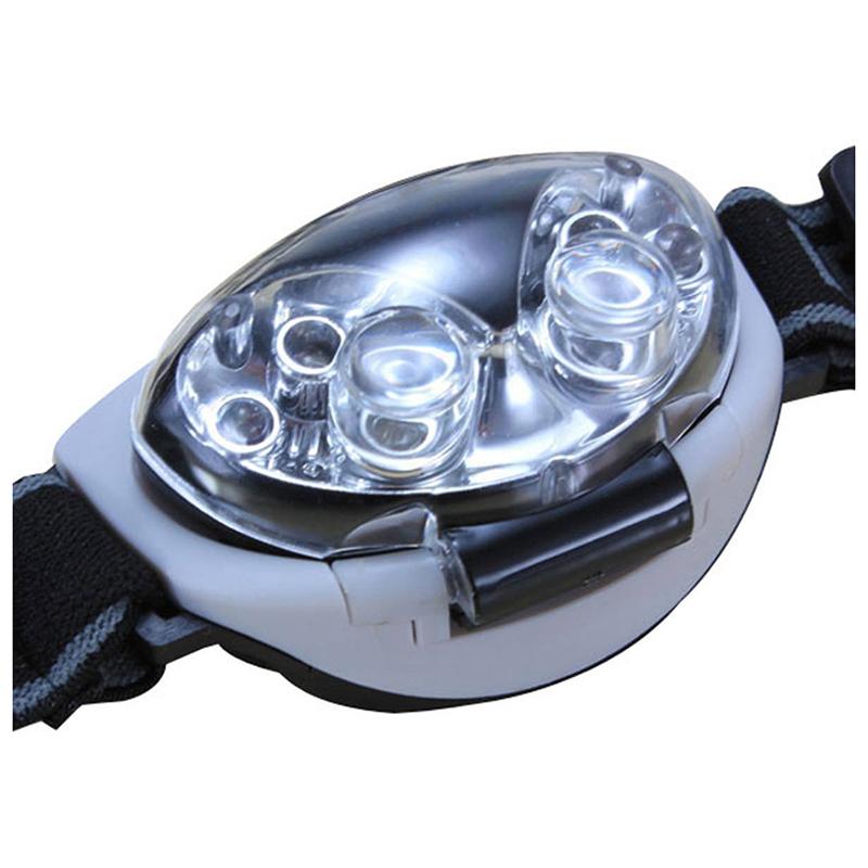 3 X AAA batteries Q7W4 3 modi 6 LED Waterproof Headlight Headlamp Head lamp