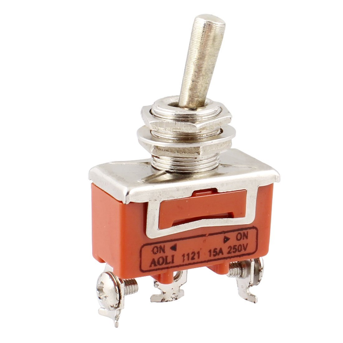 Ac 250v 15a On 2 Way Spdt Screw Terminals Toggle Switch A9e1 Positions Product Name Rated Voltage And Current Waterproof Rubber Boot Position Type Interlocking