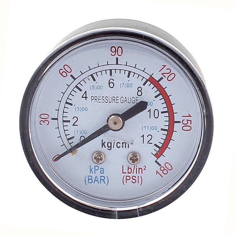 Redondo-0-180-psi-13mm-1-4BSP-Diametro-Del-Hilo-Reloj-comparador-Aire-Manomet-ST