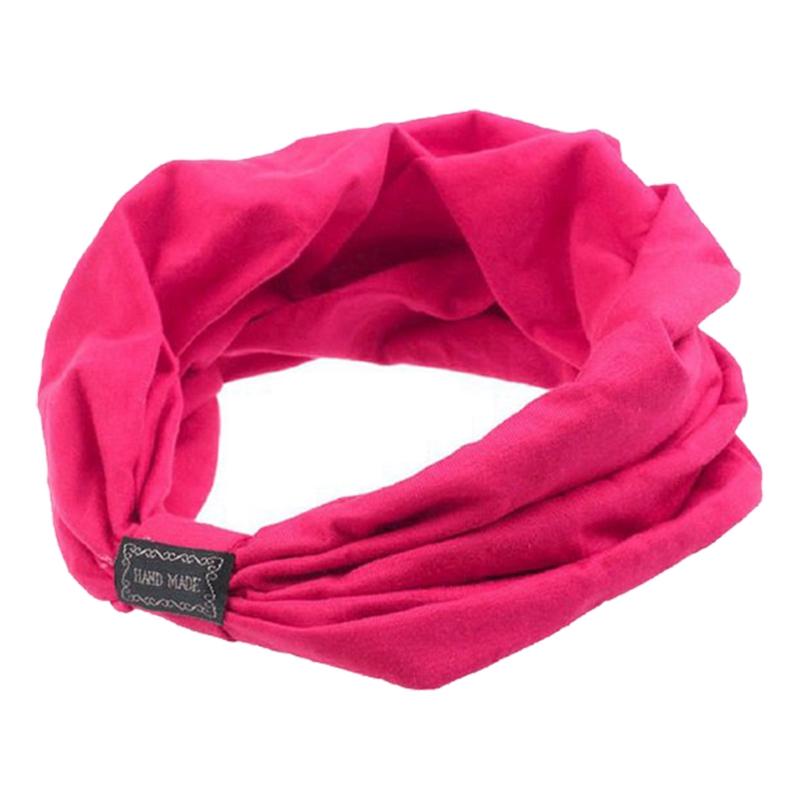 Sports-Headbands-For-Women-Hair-Accessories-Turban-Headwear-Rose-red-V7I1 thumbnail 3