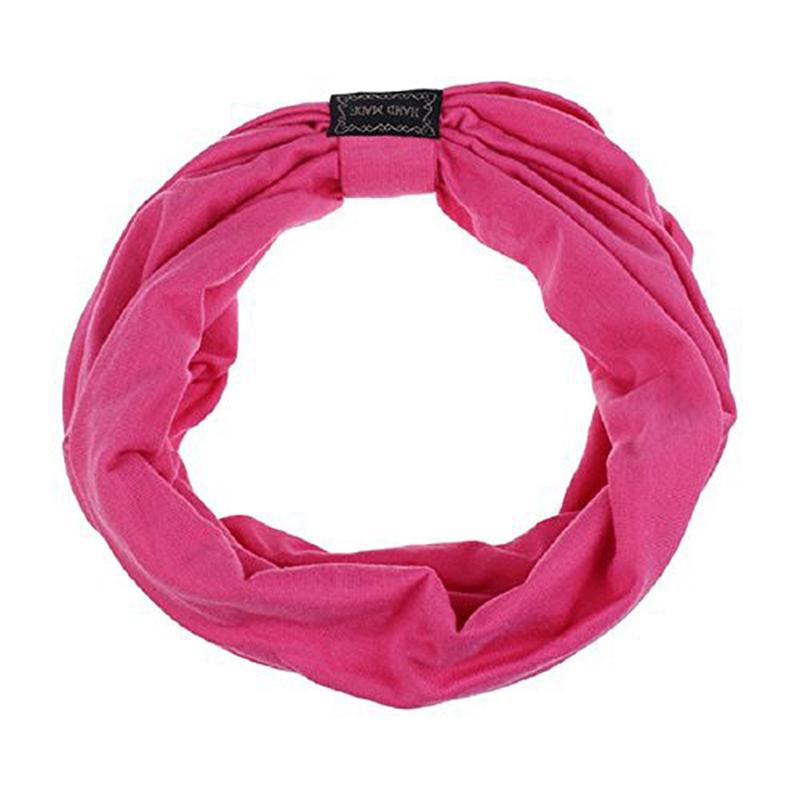 Sports-Headbands-For-Women-Hair-Accessories-Turban-Headwear-Rose-red-V7I1 thumbnail 4