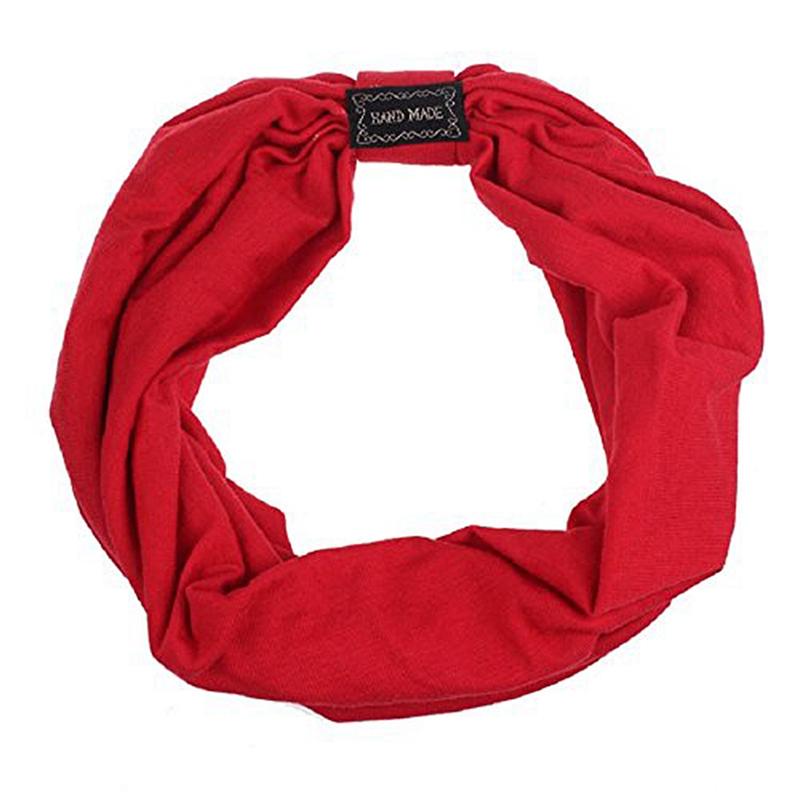 Sports-Headbands-For-Women-Hair-Accessories-Turban-Headwear-Rose-red-V7I1 thumbnail 6