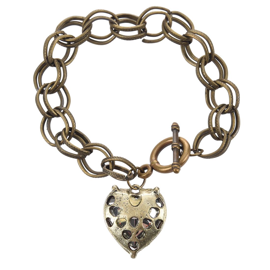 Nikki vintage heart bracelet Incest