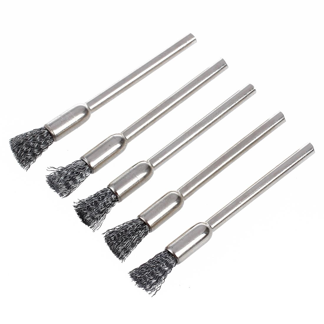 Wire Brush For Drill 3 Mm X 5 J7u9 190268160742 Ebay