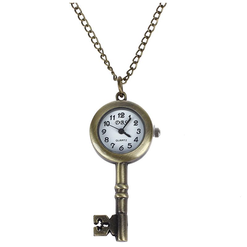Reloj-de-Bosillo-Laton-Antiguo-Diseno-de-Llave-P3B9