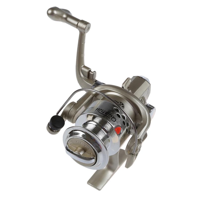 15X (6BB Rodamientos De Bolas La izquierda derecha intercambiables Manija Plegable Pesca 4M8)