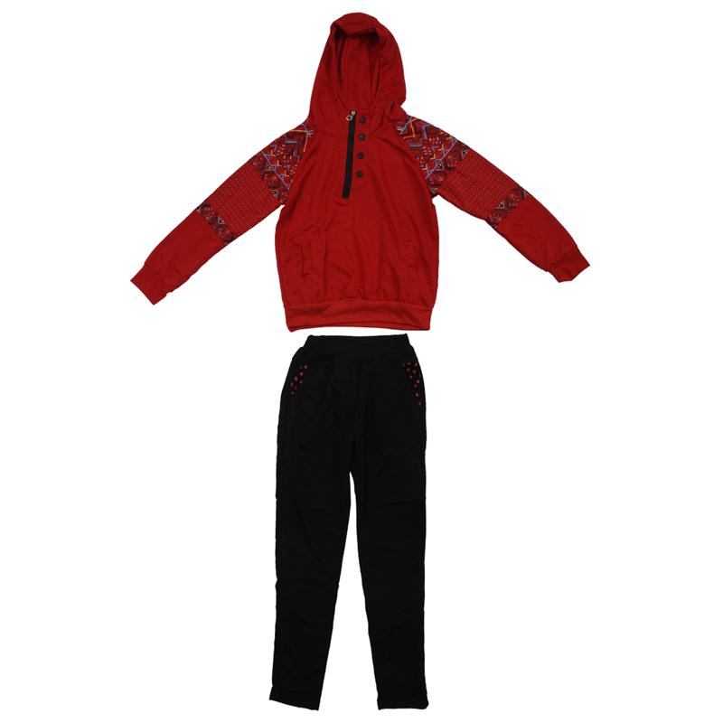 2PCS Women Jacket Sweat Pants Suit Sexy Jogging Set Track Suit ... ea28525d4b