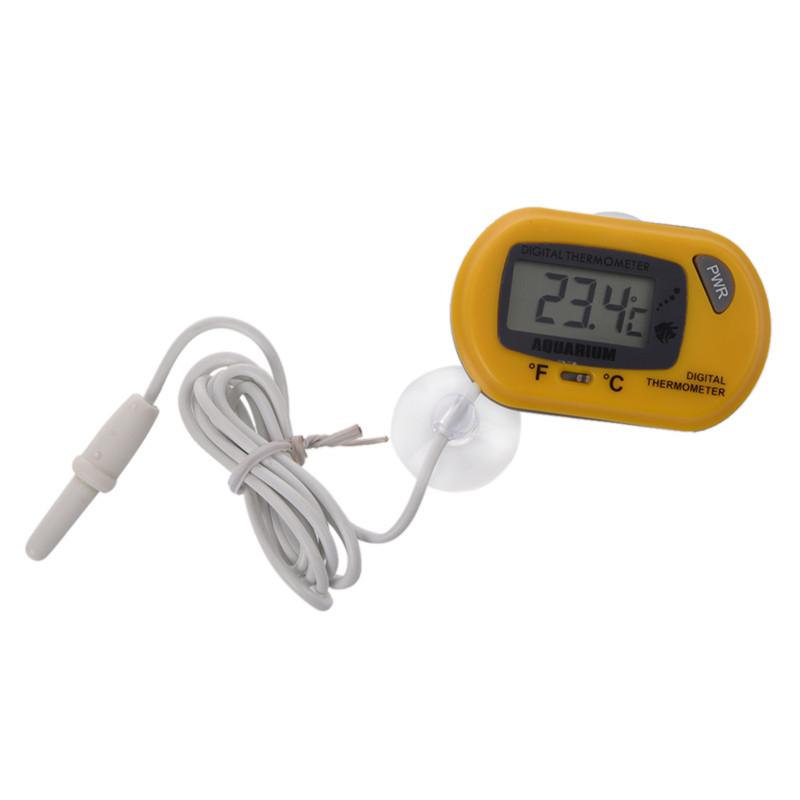 Termometro lcd digitale per acquario acquario terrarium for Termometro per acquario tartarughe
