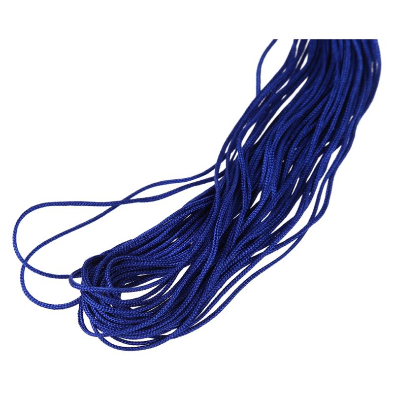 1-rollo-25m-Nylon-Cordon-Hilo-Chino-Nudo-Macrame-Cola-de-Rata-Pulsera-A5L7 miniatura 7