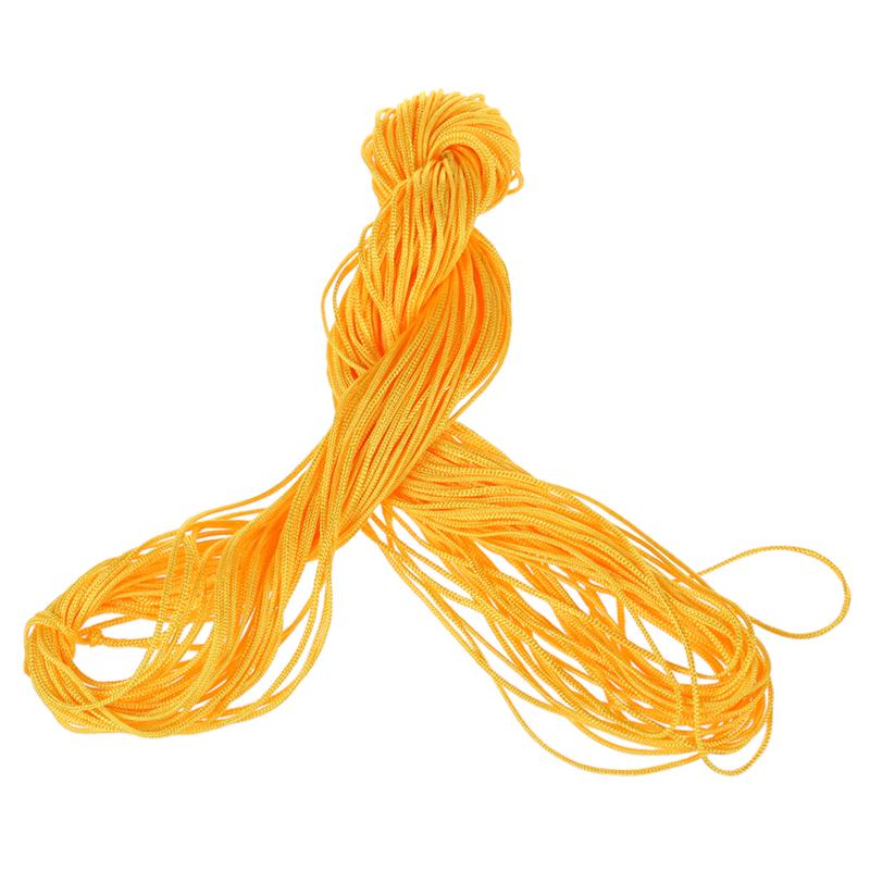1-rollo-25m-Nylon-Cordon-Hilo-Chino-Nudo-Macrame-Cola-de-Rata-Pulsera-A5L7 miniatura 18