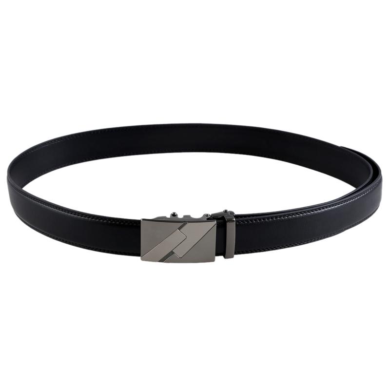 Para-hombre-de-cuero-Hebilla-automatica-cinturones-de-negocios-de-lujo-6-M6S7 miniatura 7