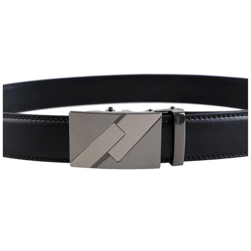 Para-hombre-de-cuero-Hebilla-automatica-cinturones-de-negocios-de-lujo-6-M6S7 miniatura 8