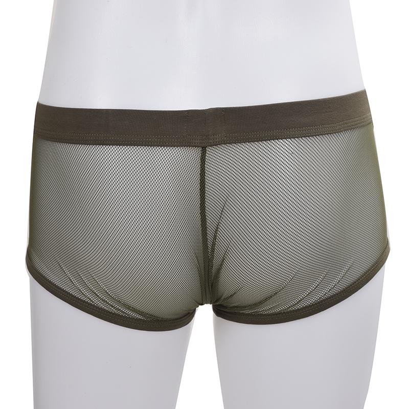 COCKCON-Masculine-Sexy-Mesh-Slim-Breathable-Boxers-Underpants-Z9Z8 thumbnail 32