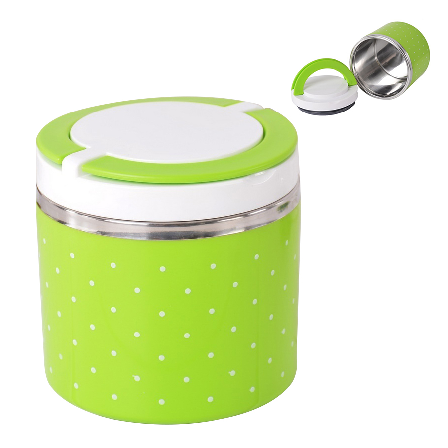 thermal bento lunch box thermos for food stainless steel insulation storage pk ebay. Black Bedroom Furniture Sets. Home Design Ideas