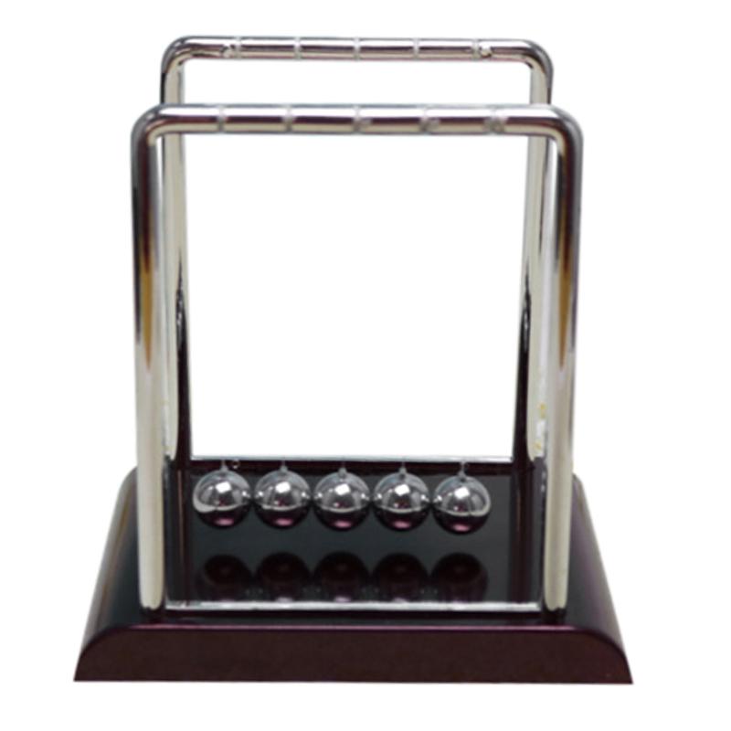 5X (Newton's Cradle inercia artesanías de péndulo de bola de bola de acero Bola de parachoques (si 9V2)