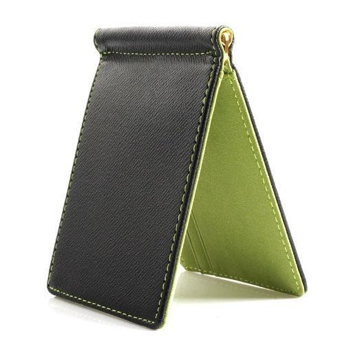 Faux-Leather-Slim-Mens-Credit-Card-Wallet-Money-Clip-Contract-Color-Simple-S2R7 thumbnail 18