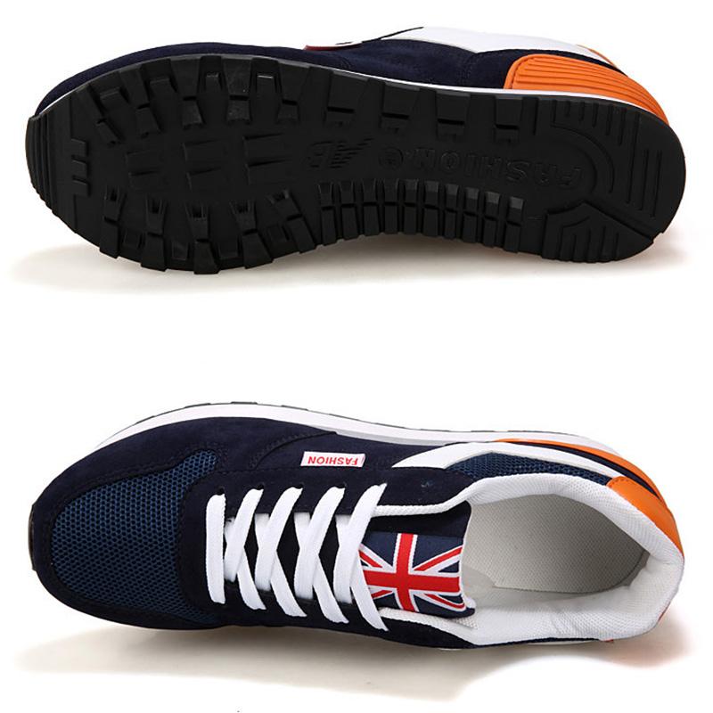Los-Zapatos-De-Para-Los-Hombres-Zapatos-con-La-Superficie-De-Malla-Transpir-N9R2 miniatura 3