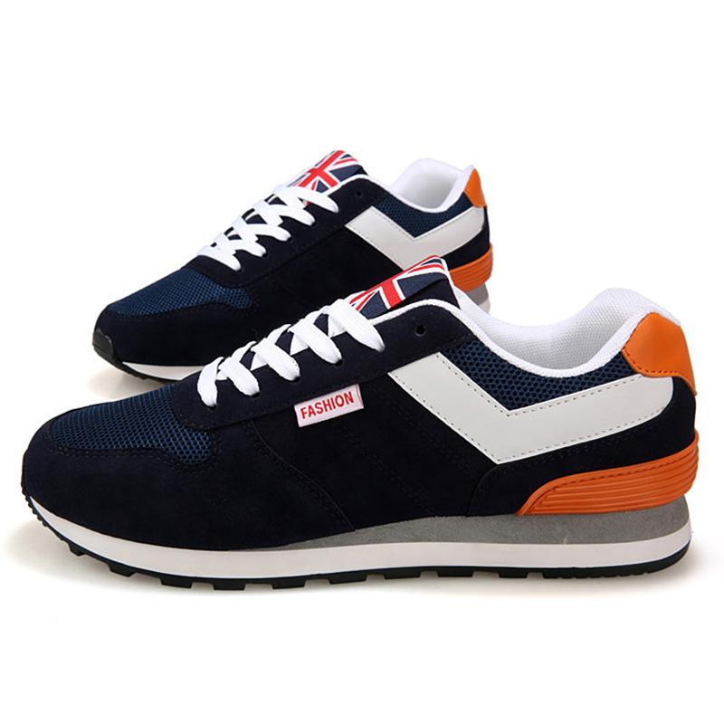 Los-Zapatos-De-Para-Los-Hombres-Zapatos-con-La-Superficie-De-Malla-Transpir-N9R2 miniatura 4