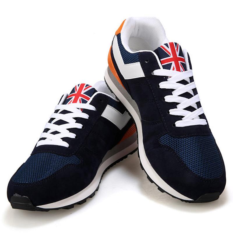 Los-Zapatos-De-Para-Los-Hombres-Zapatos-con-La-Superficie-De-Malla-Transpir-N9R2 miniatura 5