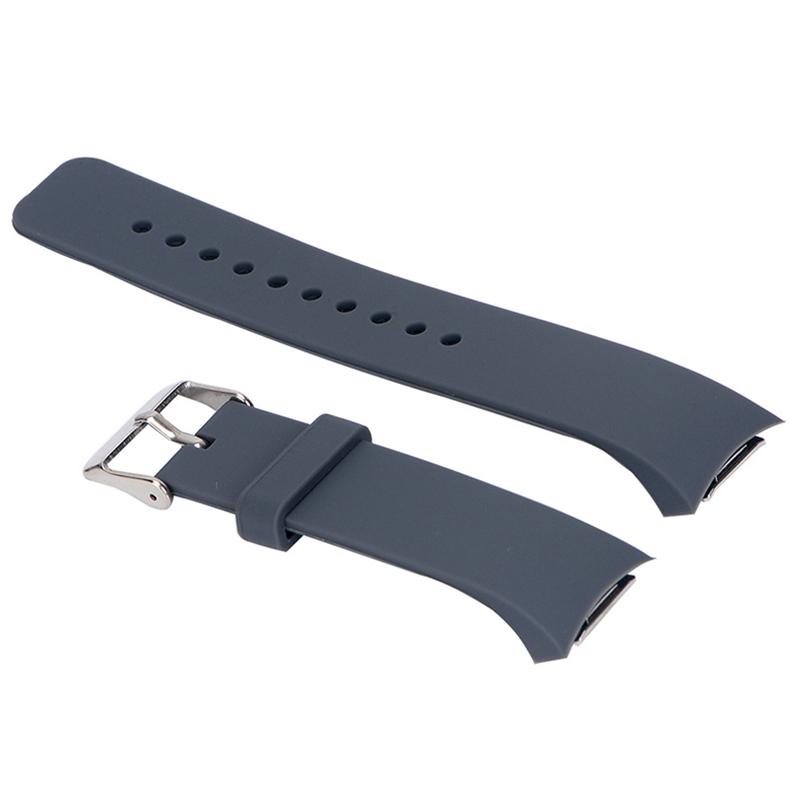 Luxus-Silikon-Uhrenarmband-Buegel-fuer-Samsung-Galaxy-S2-Gear-SM-R720-U5K8 Indexbild 6