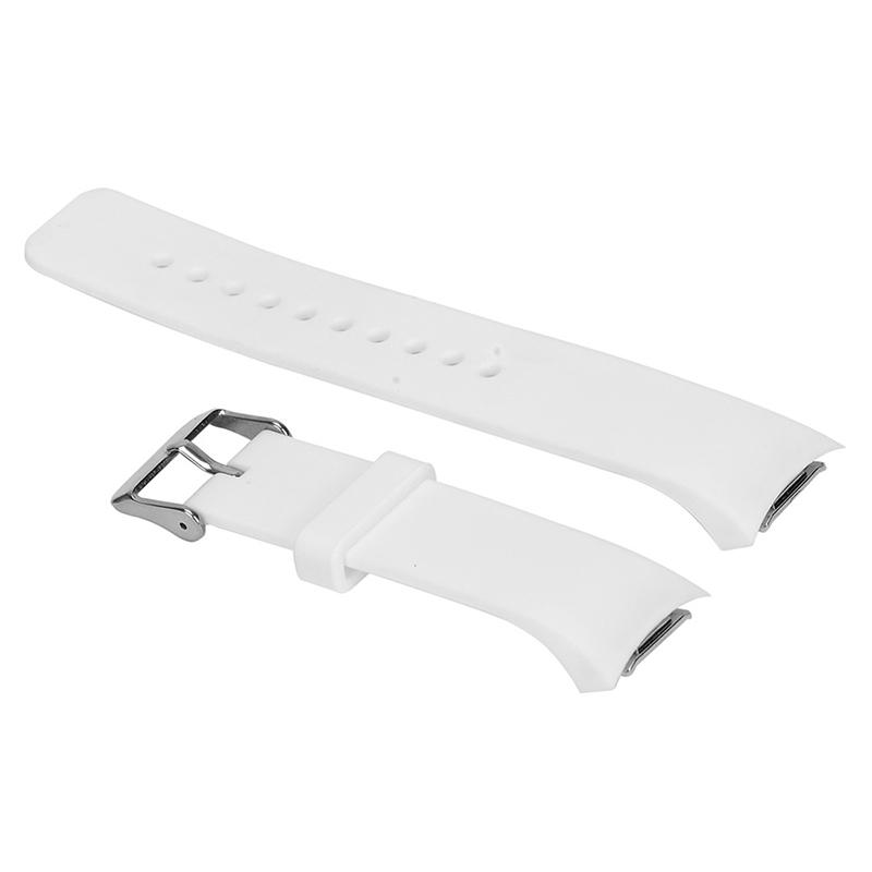 Luxus-Silikon-Uhrenarmband-Buegel-fuer-Samsung-Galaxy-S2-Gear-SM-R720-U5K8 Indexbild 9