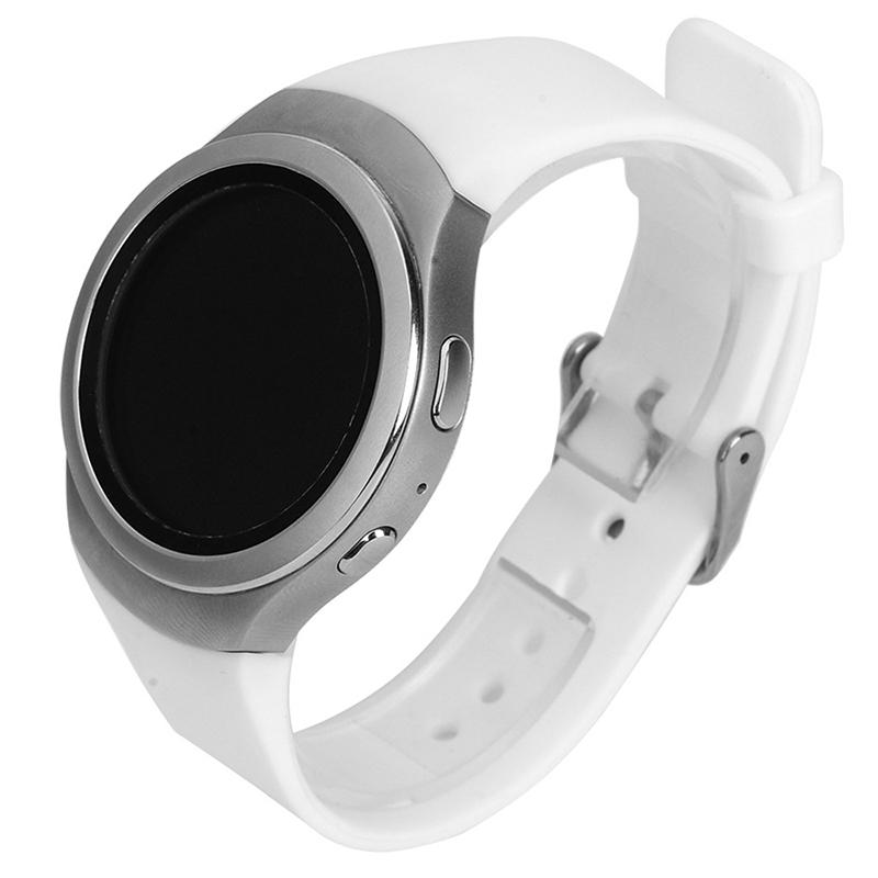 Luxus-Silikon-Uhrenarmband-Buegel-fuer-Samsung-Galaxy-S2-Gear-SM-R720-U5K8 Indexbild 10