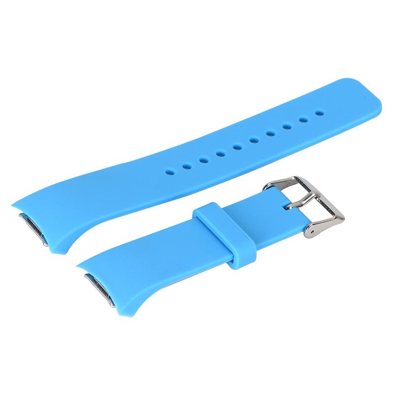 Luxus-Silikon-Uhrenarmband-Buegel-fuer-Samsung-Galaxy-S2-Gear-SM-R720-U5K8 Indexbild 18