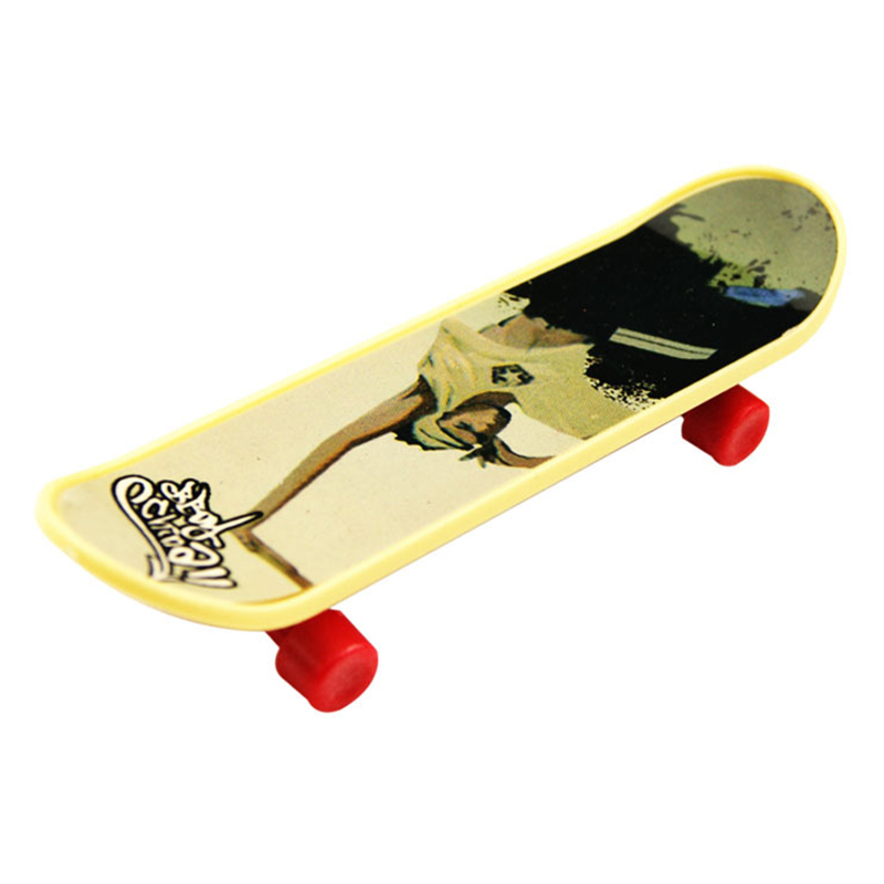 Product Description. Feel like a pro on tour with four complete boards to choose from. Each one comes complete with real skateboard parts including metal trucks, grip tape and real skate company graphics.