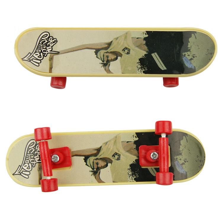 4PCS Finger Board Tech Deck Truck Mini Skateboard Toy Boy Kids Children Gift T1