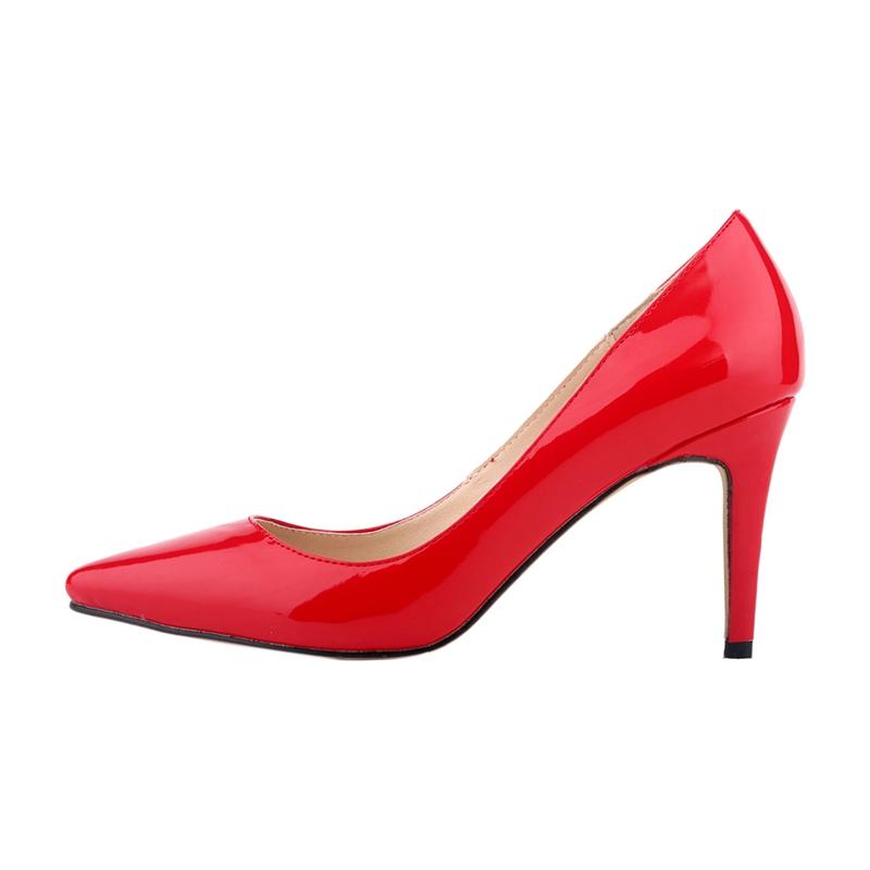 LOSLANDIFEN-chaussures-a-talons-hauts-aiguille-a-bout-pointu-de-bouche-peu-B5I8 miniature 3