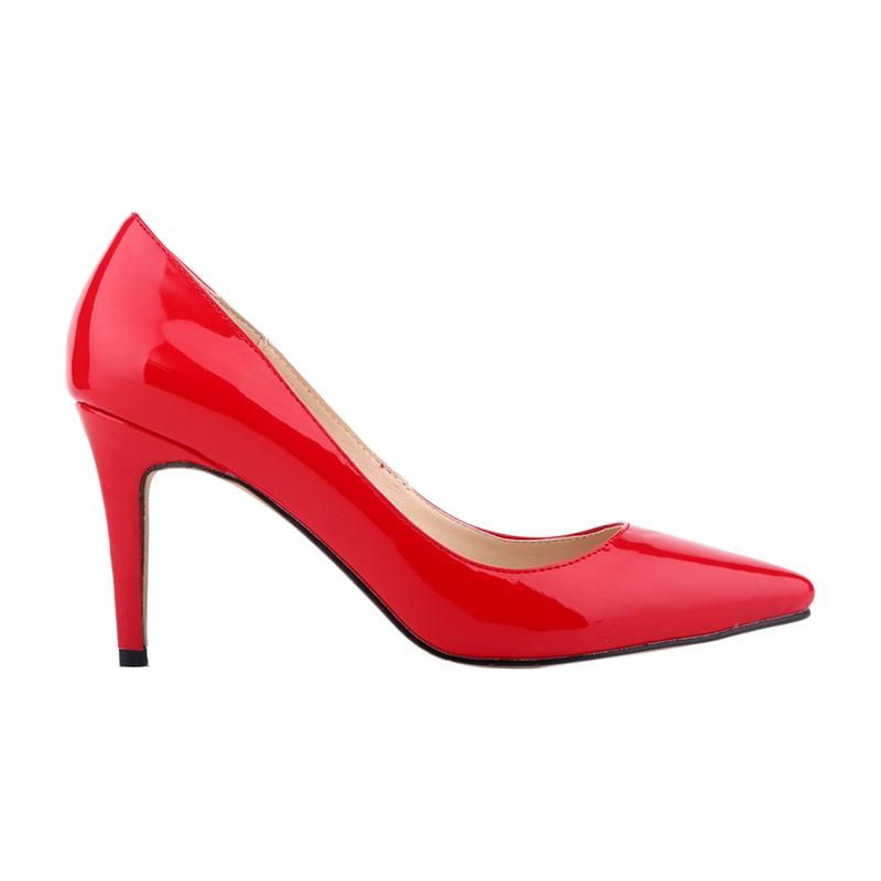 LOSLANDIFEN-chaussures-a-talons-hauts-aiguille-a-bout-pointu-de-bouche-peu-B5I8 miniature 4
