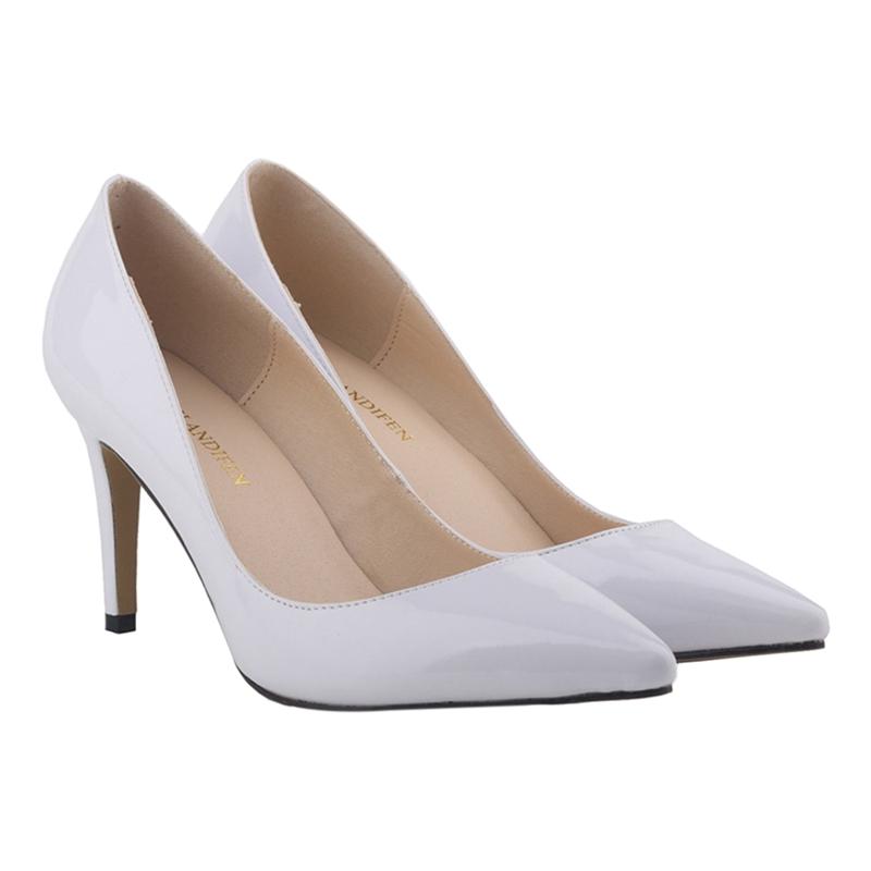 LOSLANDIFEN-chaussures-a-talons-hauts-aiguille-a-bout-pointu-de-bouche-peu-B5I8 miniature 11