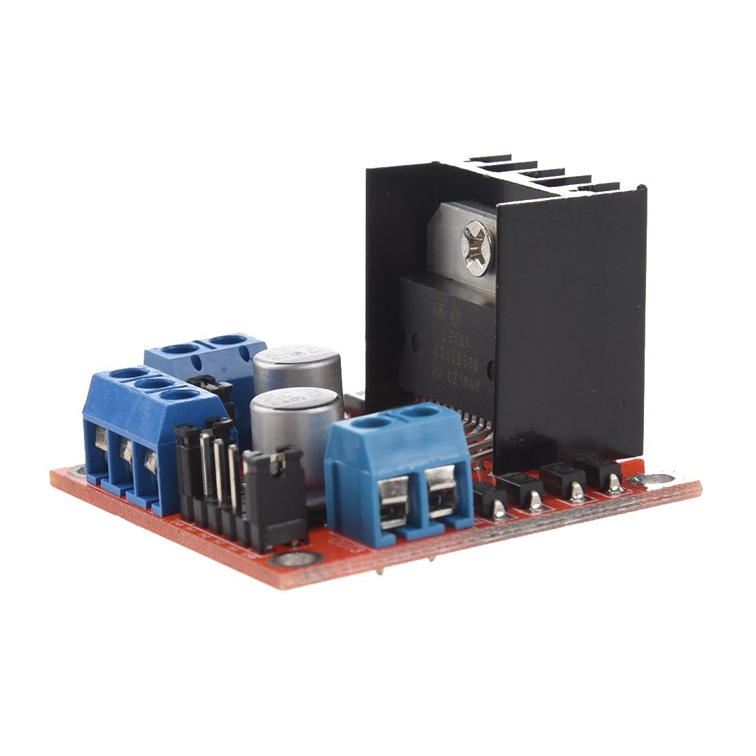 Dc Stepper Motor Drive Controller Board Module L298n Fr