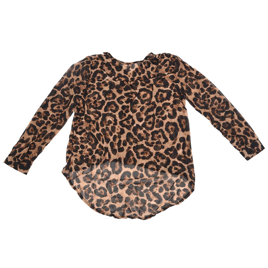 Leopard Blouse Ebay 121