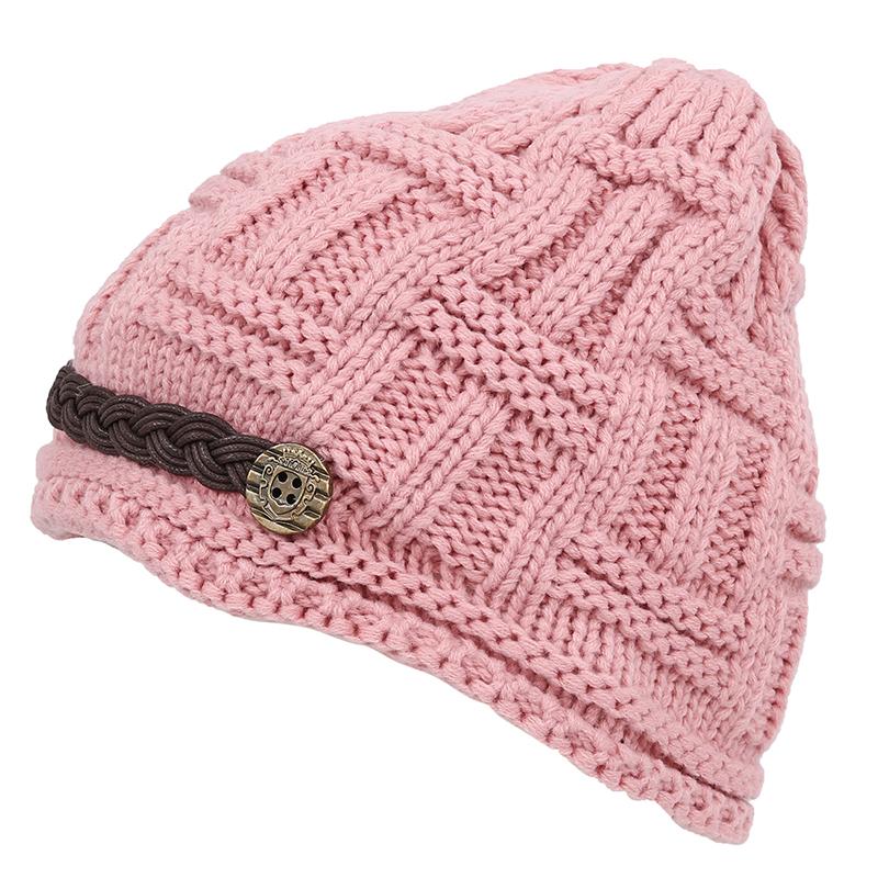 Bonnet Tricot Chapeau Femme Hiver   Beret Fille Taille Unique L7L9 ... 0754eae1ccf