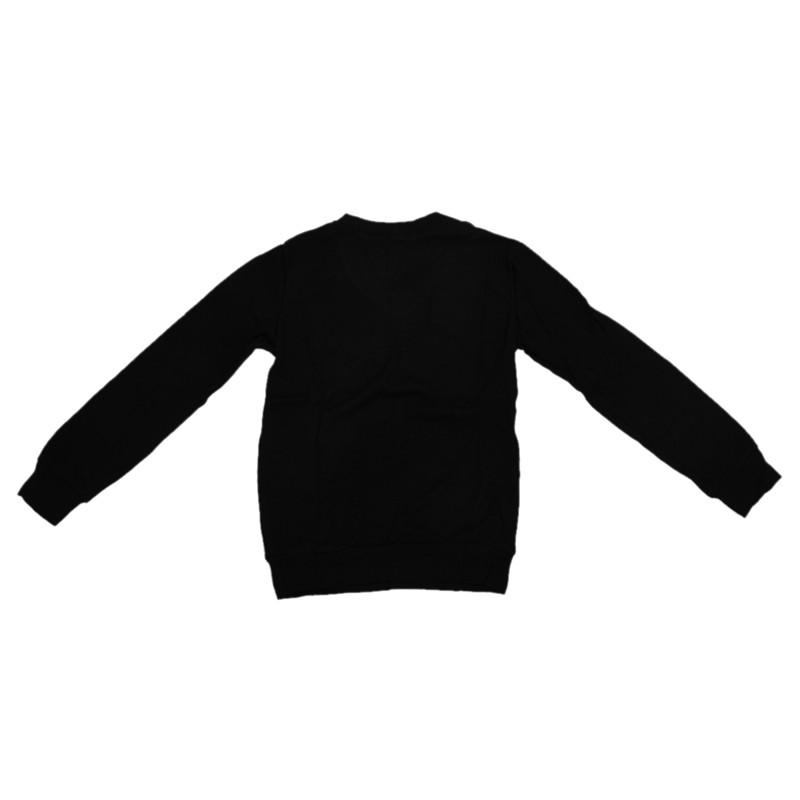 Sueter-de-cachemira-con-cuello-en-V-de-manga-larga-Casual-de-otono-delgado-N3H5 miniatura 5