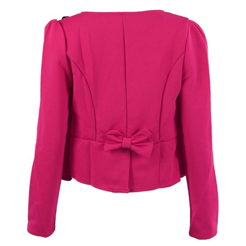 1X-Chaqueta-delgada-de-moda-de-mujer-Traje-de-Blazer-de-manga-larga-Abrigo-A9S8 miniatura 9
