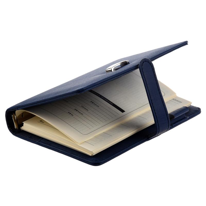 FASHION-Pocket-Planner-Pellicola-in-pelle-Filofax-Diario-ebook-Y5B3 miniatura 10