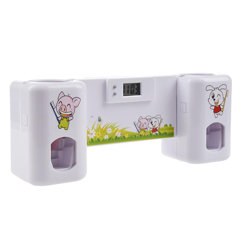 Accessoires-salle-de-bain-distributeur-automatique-de-dentifrice-Brosse-A-2V6 miniature 3