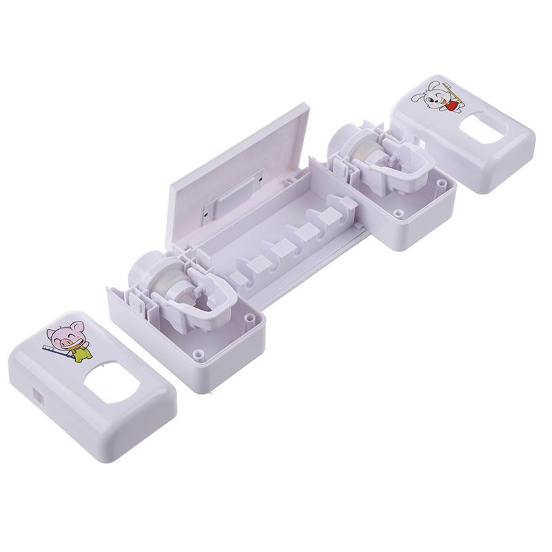 Accessoires-salle-de-bain-distributeur-automatique-de-dentifrice-Brosse-A-2V6 miniature 5