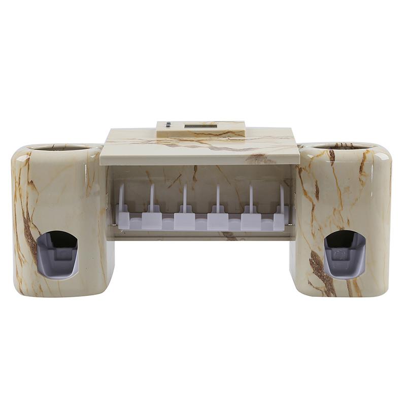 Accessoires-salle-de-bain-distributeur-automatique-de-dentifrice-Brosse-A-2V6 miniature 10