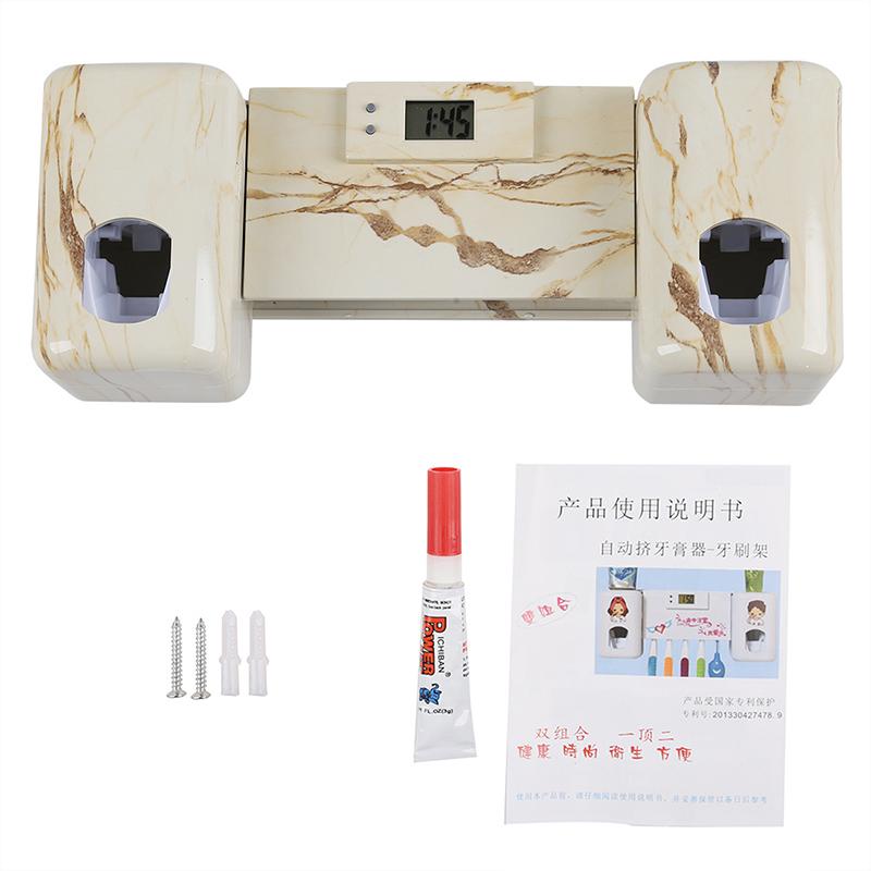 Accessoires-salle-de-bain-distributeur-automatique-de-dentifrice-Brosse-A-2V6 miniature 16