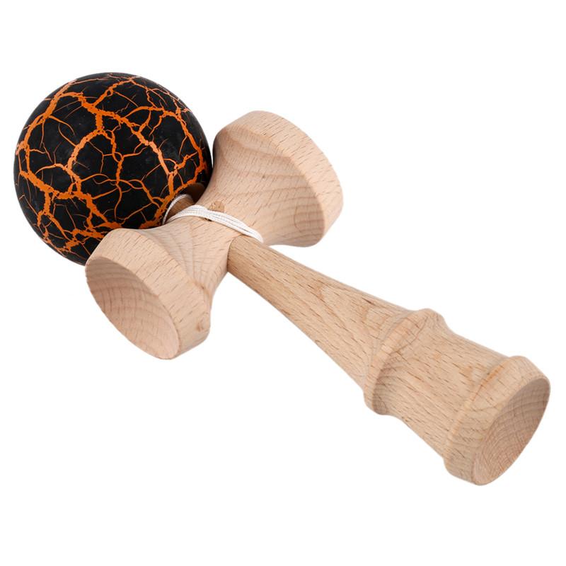 8X-Bola-Kendama-de-pintura-de-grietas-Bola-de-juego-de-malabarismo-experto-N1Z1 miniatura 8