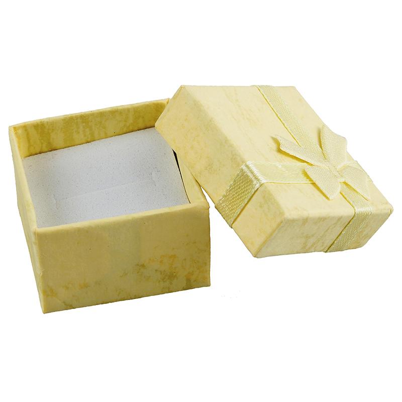 24-Pcs-Ring-Earring-Jewelry-Display-Gift-Box-Bowknot-Square-Case-U6T7 thumbnail 3