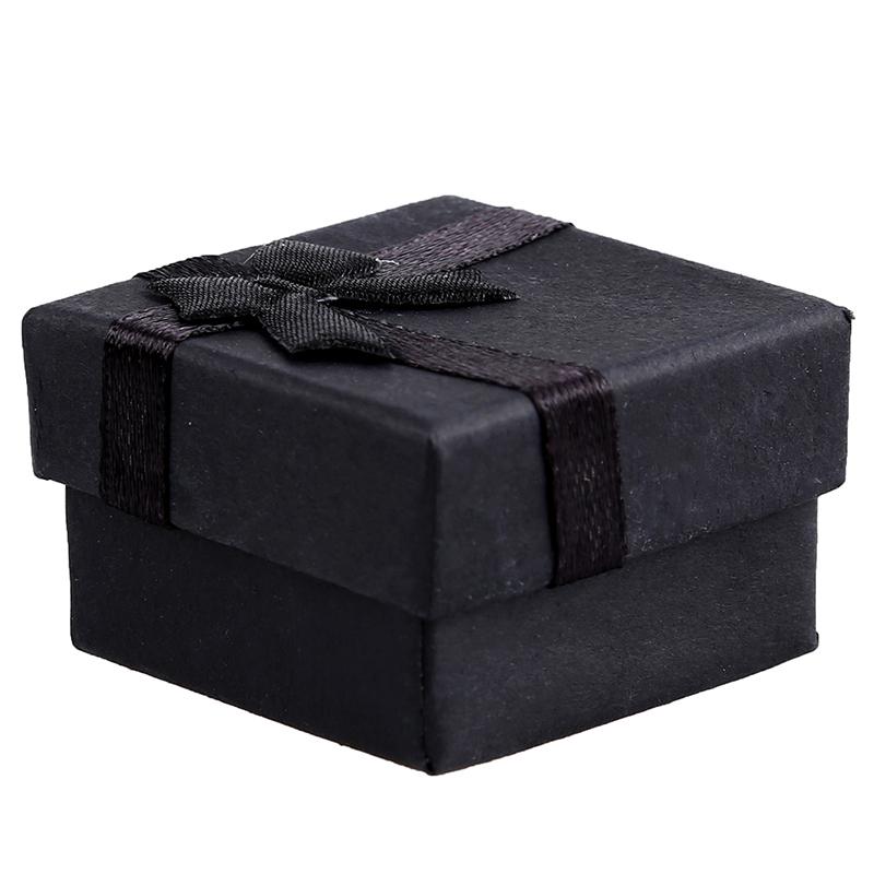 24-Pcs-Ring-Earring-Jewelry-Display-Gift-Box-Bowknot-Square-Case-U6T7 thumbnail 19