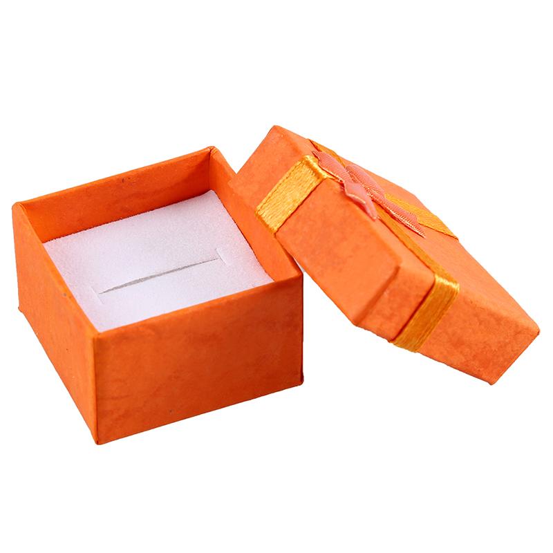 24-Pcs-Ring-Earring-Jewelry-Display-Gift-Box-Bowknot-Square-Case-U6T7 thumbnail 36
