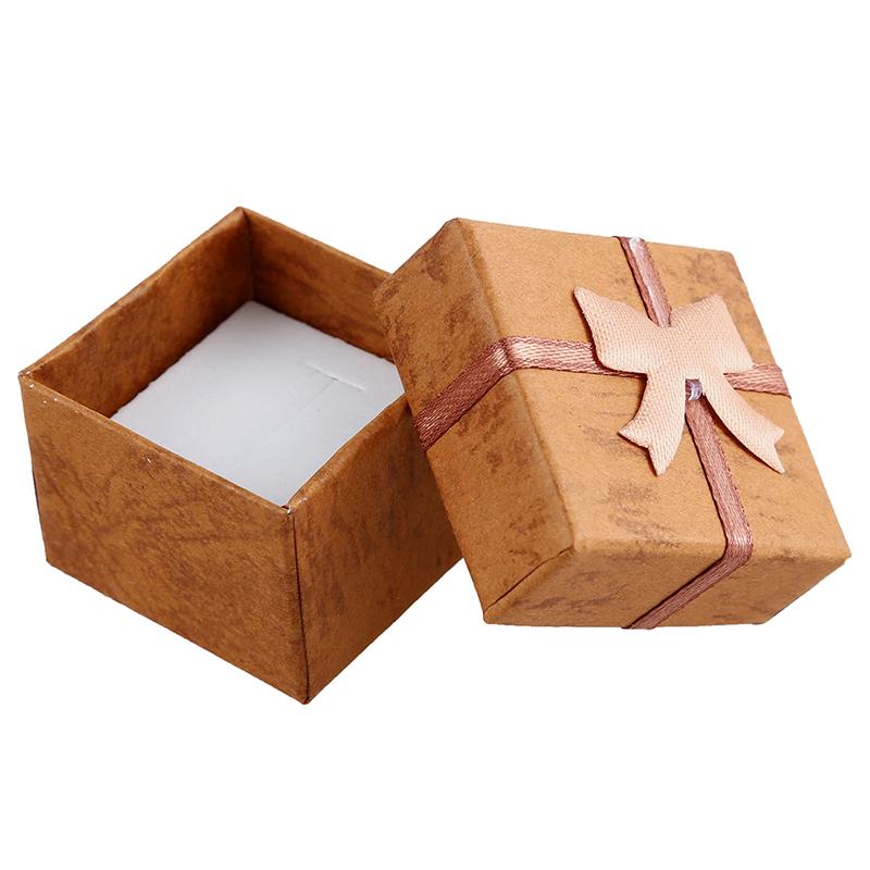 24-Pcs-Ring-Earring-Jewelry-Display-Gift-Box-Bowknot-Square-Case-U6T7 thumbnail 43